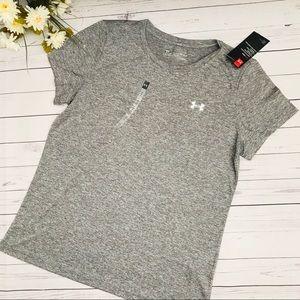 Grey Under Armour HeatGear Shirt